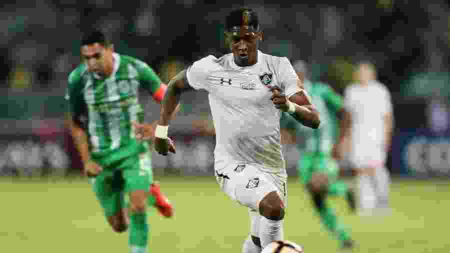 Atacante Yony González retorna ao time do Fluminense após ser desfalque no clássico contra o Vasco - REUTERS/Luisa Gonzalez
