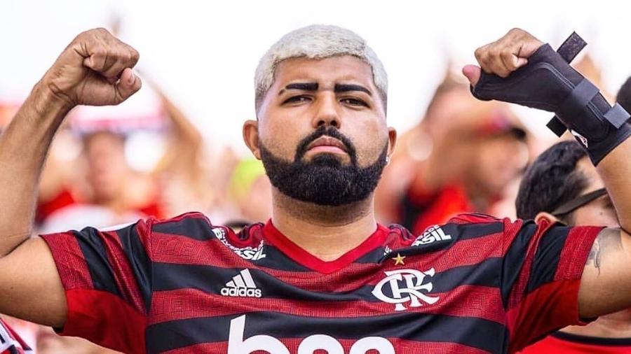 """Jeferson Sales, sósia de Gabigol: Galvão Bueno o chamou de """"Gabigordo"""", mas ele prefere """"Gabigol da Torcida"""" - Reprodução/Instagram"""