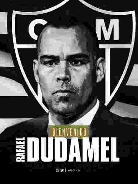 Aos 46 anos, Rafael Dudamel será o primeiro técnico venezuelano na história do Atlético-MG - Atlético-MG/Divulgação