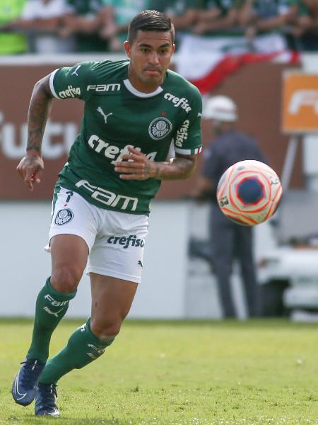 Dudu durante partida contra o São Paulo pelo Paulistão 2020 - Marcello Zambrana/AGIF
