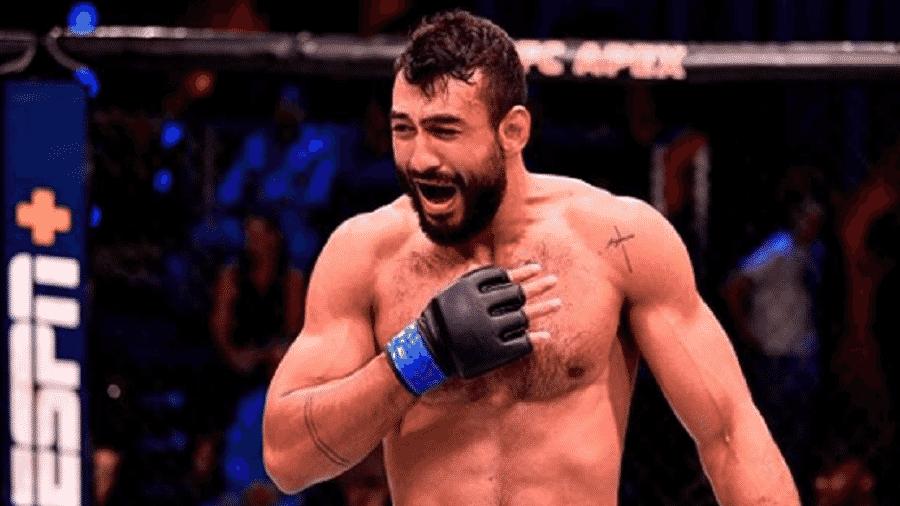 O brasileiro Antônio Arroyo, lutador de MMA - Reprodução/Instagram