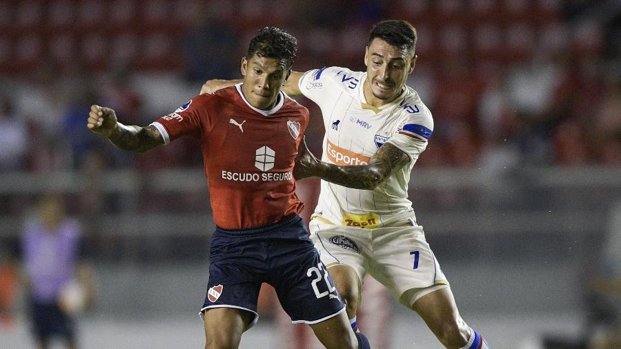 Fortaleza recebe o Independiente, pela Sul-Americana, no dia 27, quinta-feira - JUAN MABROMATA / AFP