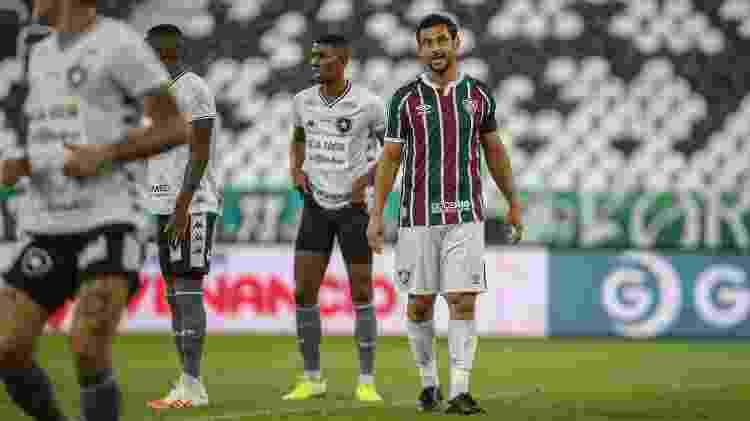 Atacante Fred, do Fluminense, no clássico com o Botafogo - Lucas Merçon / Fluminense F.C. - Lucas Merçon / Fluminense F.C.