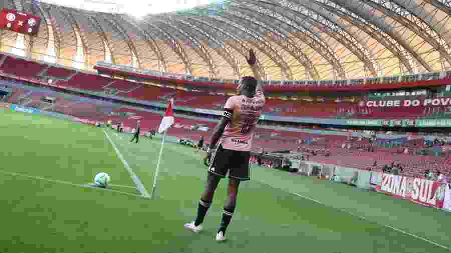 Edenilson, capitão do Inter, passará por teste para enfrentar o América-MG - Ricardo Duarte/Inter