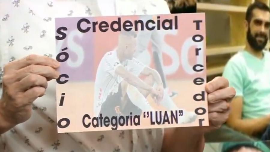 """Neto detona jogador e """"cria"""" sócio torcedor Luan  - Reprodução/Band"""