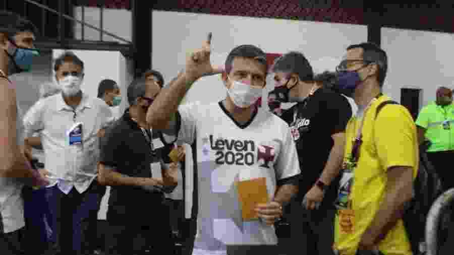 Candidato Leven Siano é beneficiário de ação do Solidariedade no STF sobre eleição no Vasco da Gama - Divulgação / Chapa Somamos