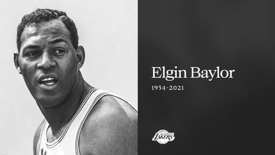 Morre Elgin Baylor, ídolo do Los Angeles Lakers - Twitter