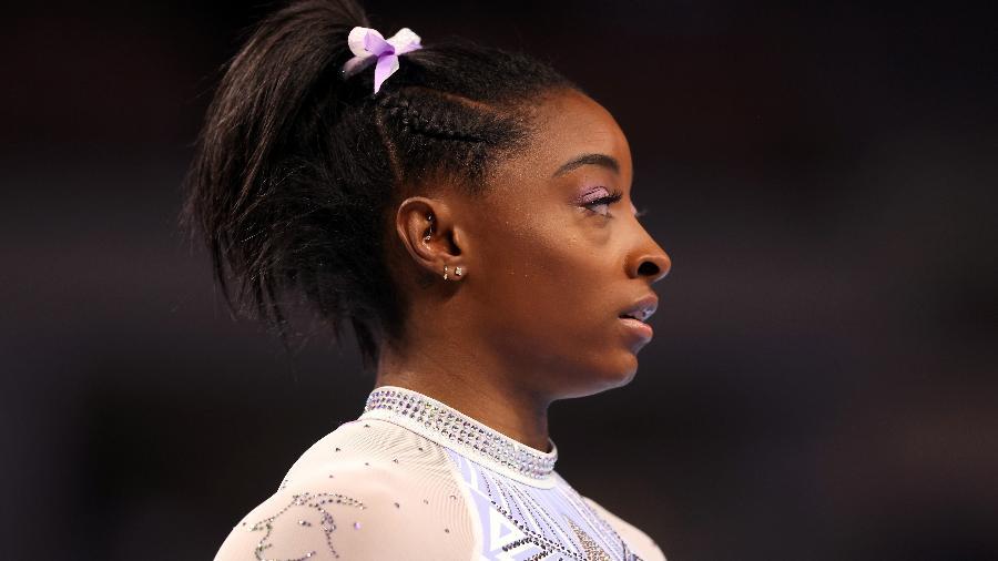 Simone Biles é uma das favoritas ao ouro olímpico na ginástica artística - Jamie Squire/Getty Images