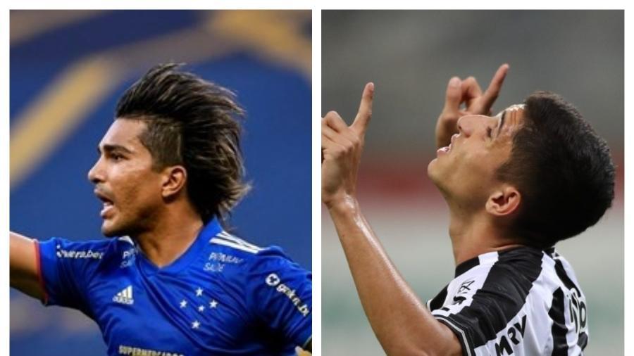 Savarino e Marcelo Moreno voltam de suas respectivas seleções para ajudar Galo e Raposa - Pedro Souza/Atlético e Divulgação/Mineirão