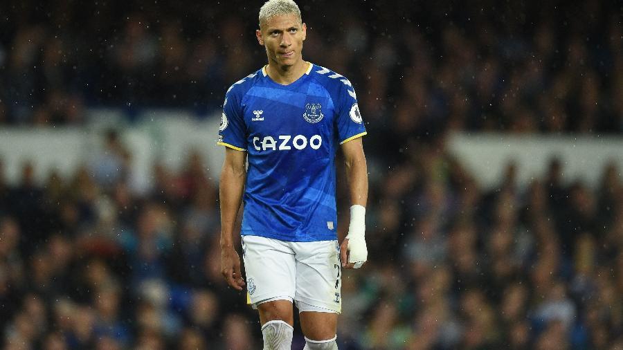 Richarlison, atacante do Everton - AFP