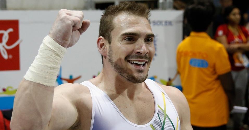Arthur Zanetti, brasileiro da ginástica artística