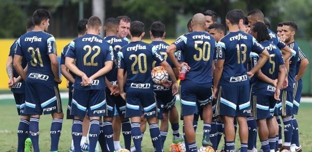 Elenco do Palmeiras na chegada de Cuca ao Palmeiras tinha 37 jogadores