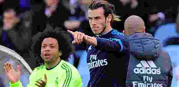 Bale comemoração2 -  AFP PHOTO / ANDER GILLENEA  -  AFP PHOTO / ANDER GILLENEA