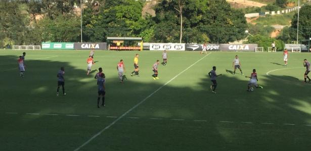 Atlético-MG venceu jogo-treino disputado como Guarani, na Cidade do Galo