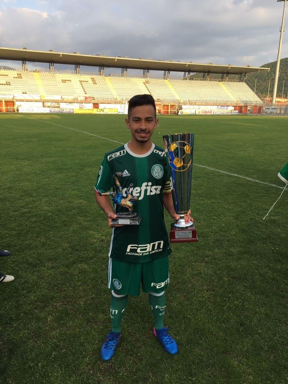 Alan Guimarães Palmeiras sub-17