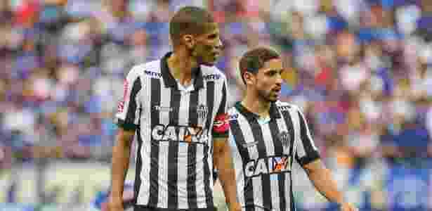 Atlético-MG deve ter a dupla Leonardo Silva e Gabriel contra o Cruzeiro - Bruno Cantini/Atlético-MG