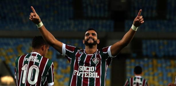 Com sete gols, Henrique Dourado lidera a tabela de artilharia do Campeonato Brasileiro