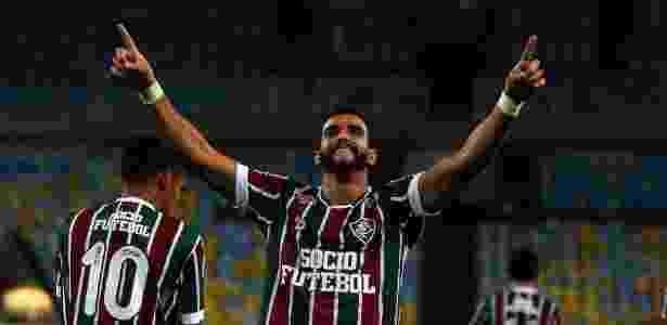 Henrique Dourado é o artilheiro do Campeonato Brasileiro - Nelson Perez / Flickr do Fluminense