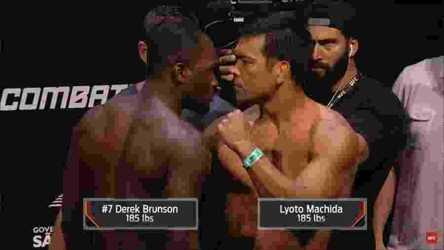 Lyoto Machida fará seu retorno ao UFC contra Derek Brunson em São Paulo - Reprodução