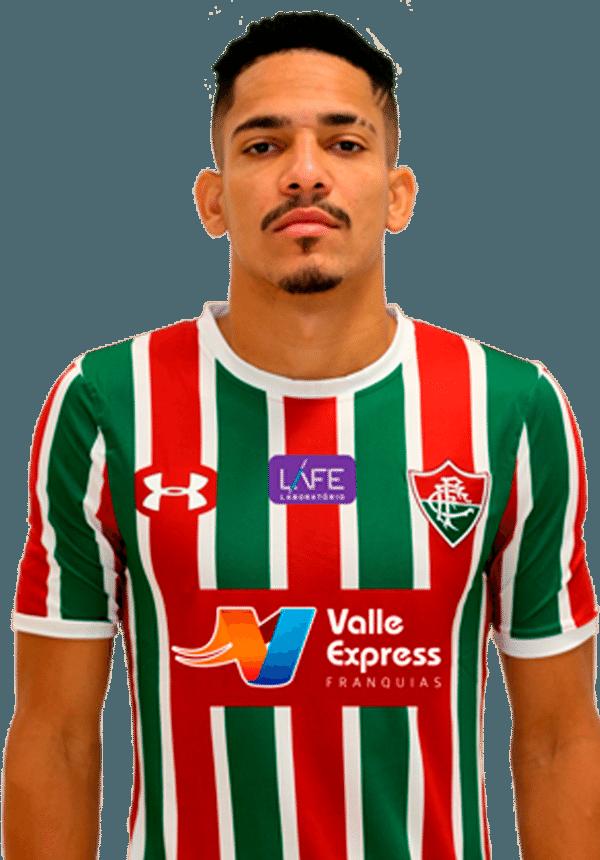 Gilberto, lateral direito do Fluminense