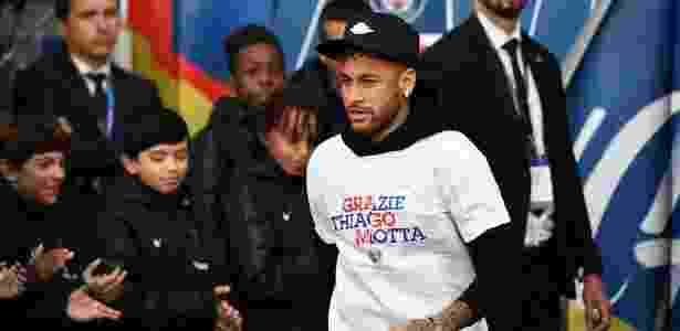 089e8cb330 Neymar vai ao Parque dos Príncipes acompanhar despedida de Thiago Motta