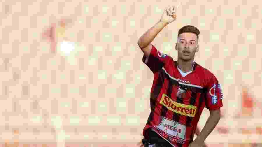 Jovem Gabriel Martinelli chama atenção no Paulista com a camisa do Ituano - Miguel Schincariol/Ituano FC