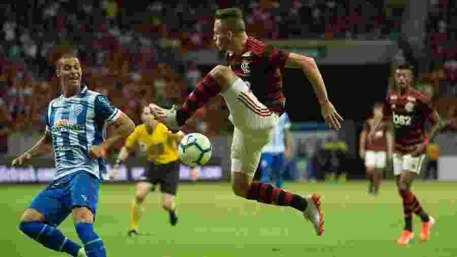 Flamengo e CSA se enfrentam no Mané Garrincha - Alexandre Vidal / Flamengo
