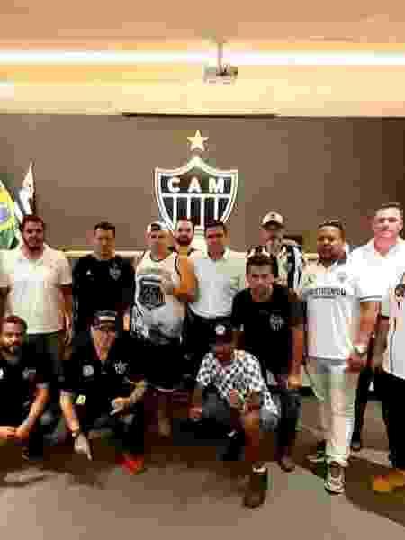 Organizadas se reúnem com membros da diretoria do Atlético-MG - Arquivo Pessoal