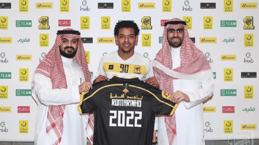 Romarinho renova com Al-Ittihad até junho de 2022 - Divulgação/Al-Ittihad
