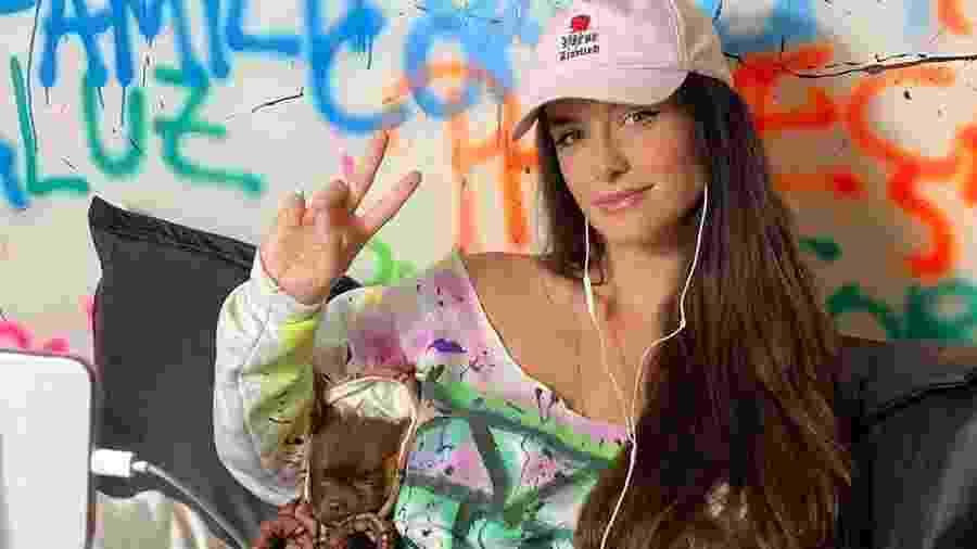 Bárbara Labres, DJ brasileira - Reprodução/instagram