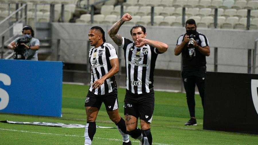 Ceará levou a melhor no jogo do primeiro turno e venceu por 2 a 1 - Kely Pereira/AGIF