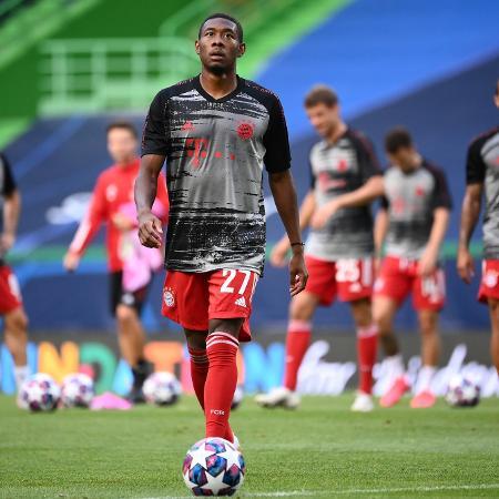 Alaba segue sendo alvo dos principais clubes europeus - FRANCK FIFE/AFP