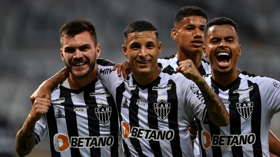 Guilherme Arana, de pênalti, garantiu a suada vitória do Atlético-MG em cima do rebaixado Boa Esporte - Divulgação/Mineirão