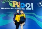 Brasileira dá treino pela internet e empresta roupa do bronze no Pan