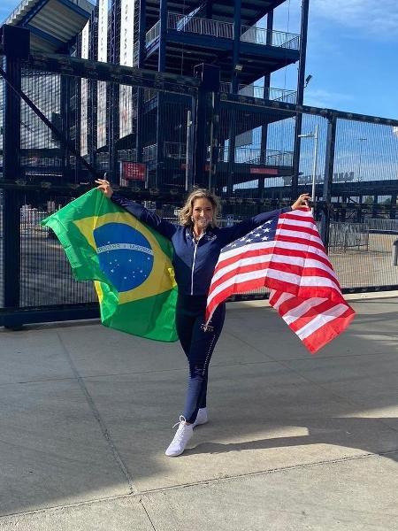 Lara Rouillard vai integrar a equipe de cheerleaders do New England Patriots, da NFL - Reprodução