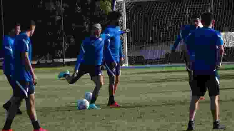 Eduardo Vargas participa de treinamento do Chile na Copa América - Marinho Saldanha/UOL - Marinho Saldanha/UOL