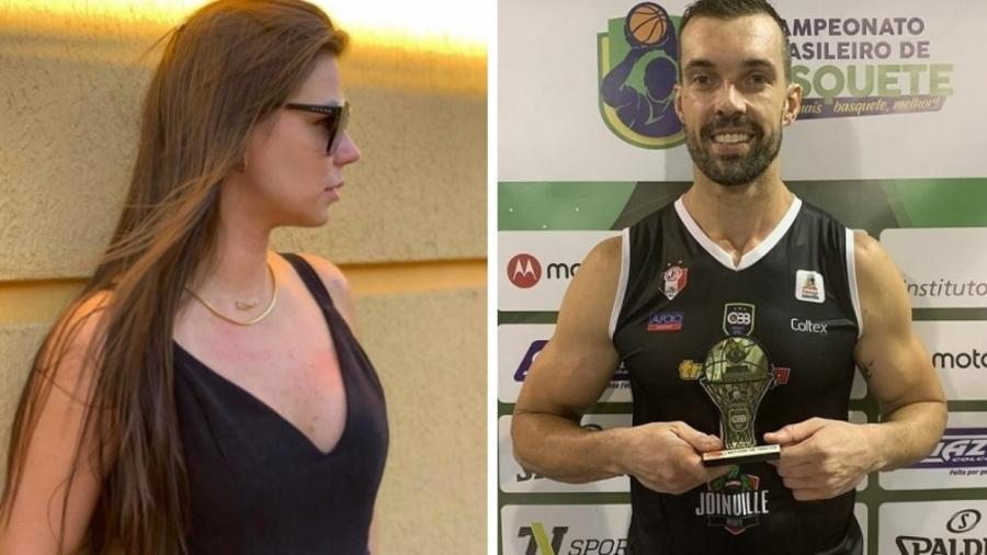 A influenciadora digital Patricia Pontes e o jogador de basquete Murilo Becker - Reprodução/Instagram - Montagem UOL