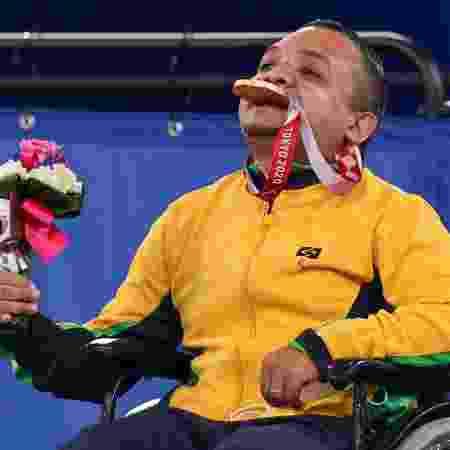 Maciel Santos, da bocha paralímpica - Takuma Matsushita/CPB - Takuma Matsushita/CPB