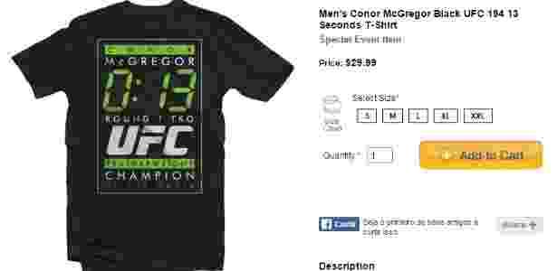 Reprodução/Site UFC