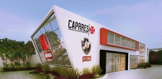 Caprres foi construído no estacionamento de São Januário e tem 600 metros quadrados - Divulgação