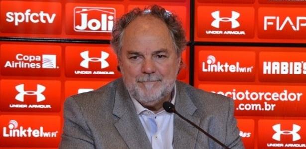 Luiz Cunha foi diretor de futebol entre março e junho deste ano - Érico Leonan/saopaulofc.net