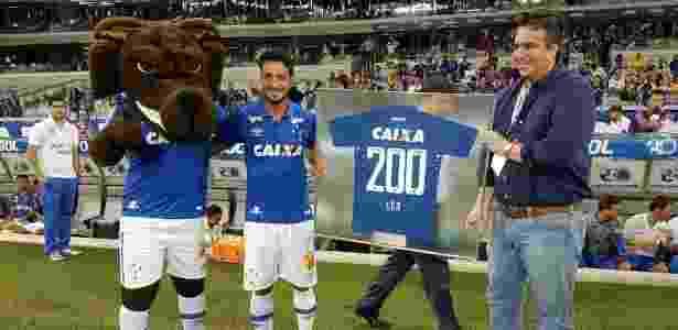 Em junho de 2016, Léo alcançou 200 jogos pelo Cruzeiro. Neste domingo, serão 260 - Cruzeiro/Divulgação