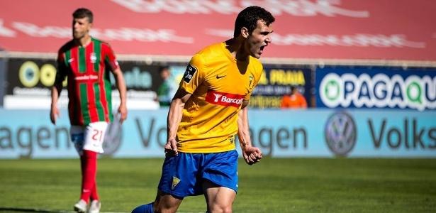 Leo Bonatini foi destaque do Estoril, clube da Traffic, em última temporada portuguesa - Rodrigo Antunes/Facebook Estoril SAD