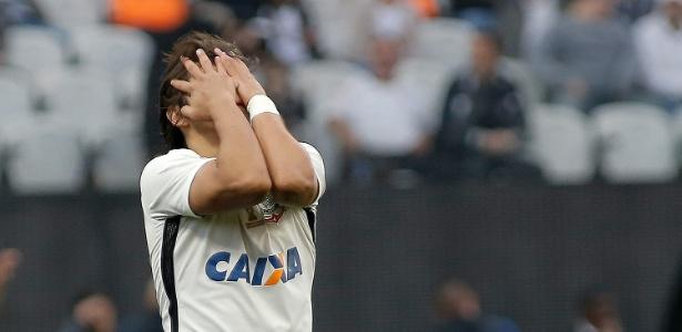 Romero vem desperdiçando chances de gols nas últimas rodadas do Brasileiro