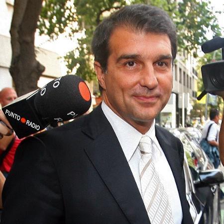 Joan Laporta, ex-presidente do Barcelona - AFP PHOTO / JOSEP LAGO