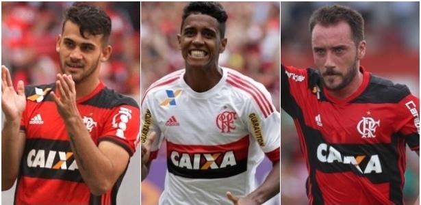 Felipe Vizeu, Gabriel e Mancuello não têm sido utilizados no Flamengo por Zé Ricardo