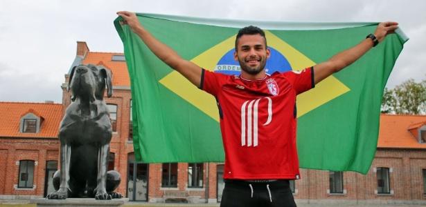 Volante Thiago Maia já foi apresentado como jogador do Lille, da França