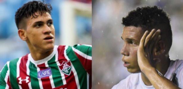 Jovens Pedro e Paulinho têm sido os destaques de Fluminense e Vasco