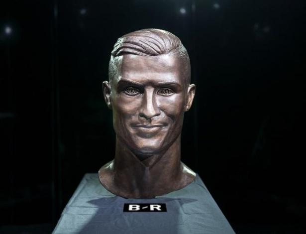 Nova estátua de Cristiano Ronaldo