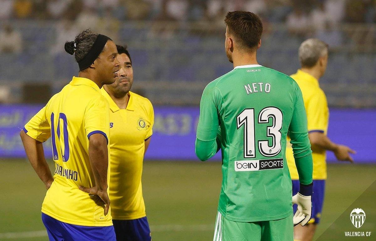 Ronaldinho Deco Neto Valencia Al-Nassr